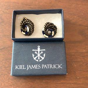 Kiel James Patrick clip on nautical earrings
